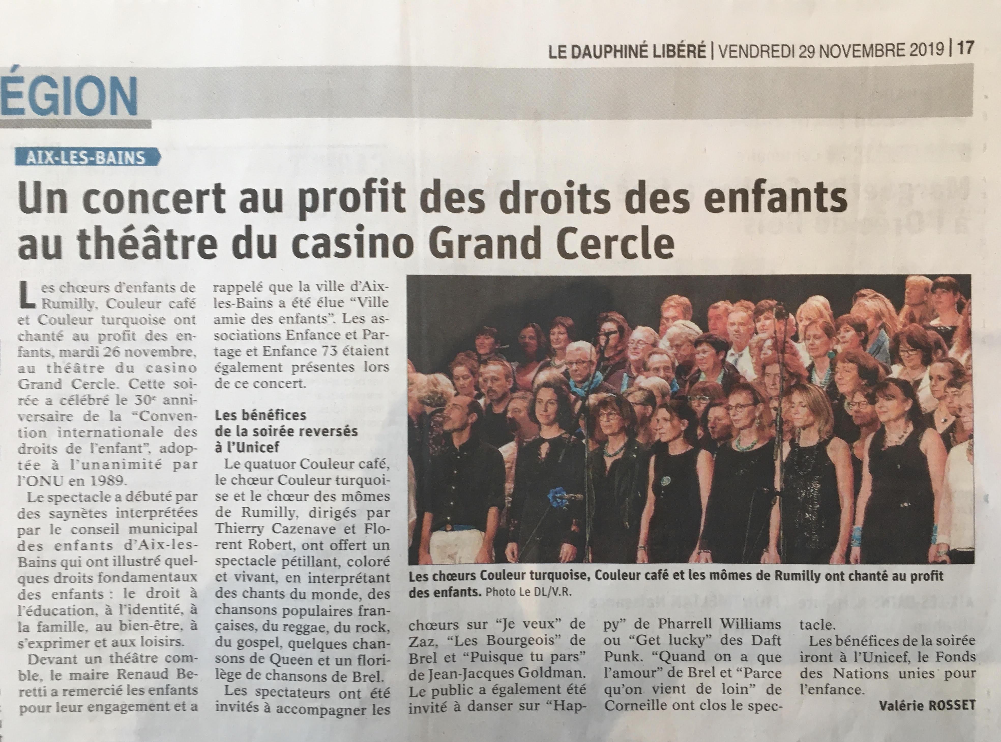 26/11/2019 Aix-les-Bains